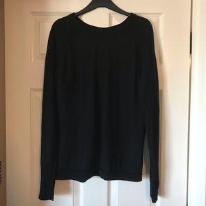 Lululemon Size 12 Black Sweater